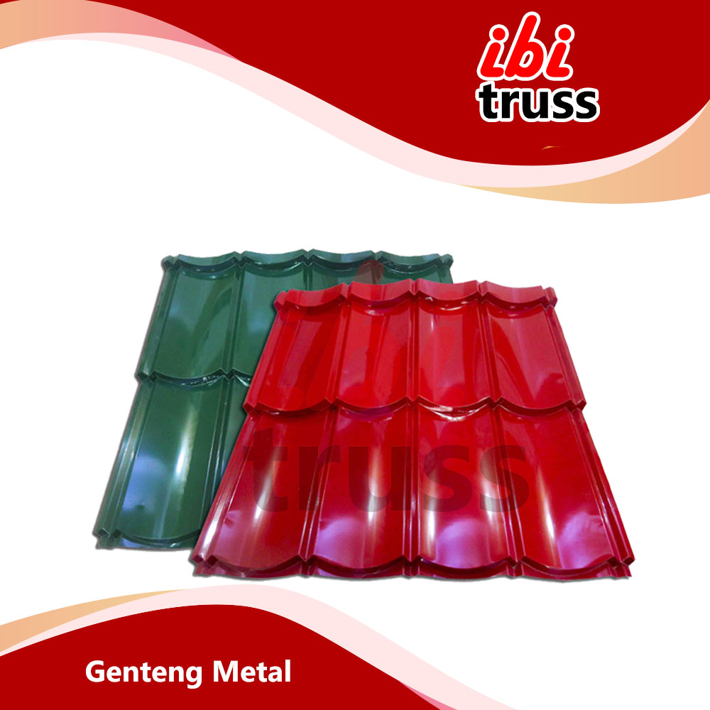 GENTENG METAL CASIA 2 X 4